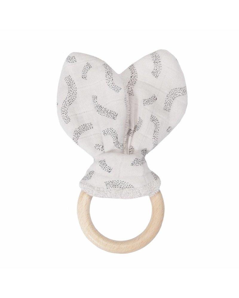 Trixie Bijtring Konijn - Confetti