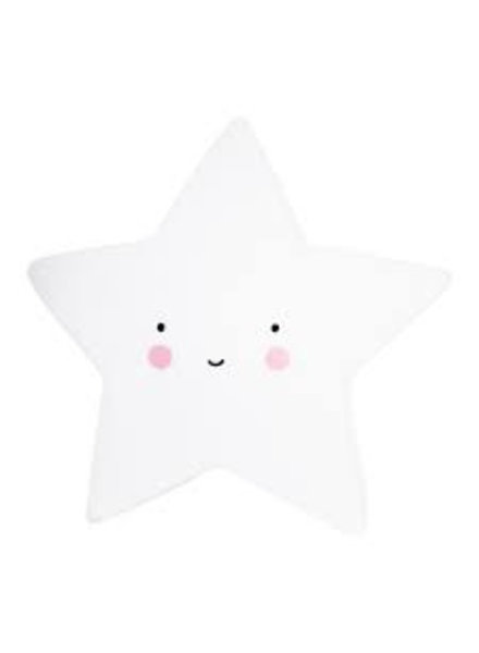 A Little Lovely Company Star Light - White