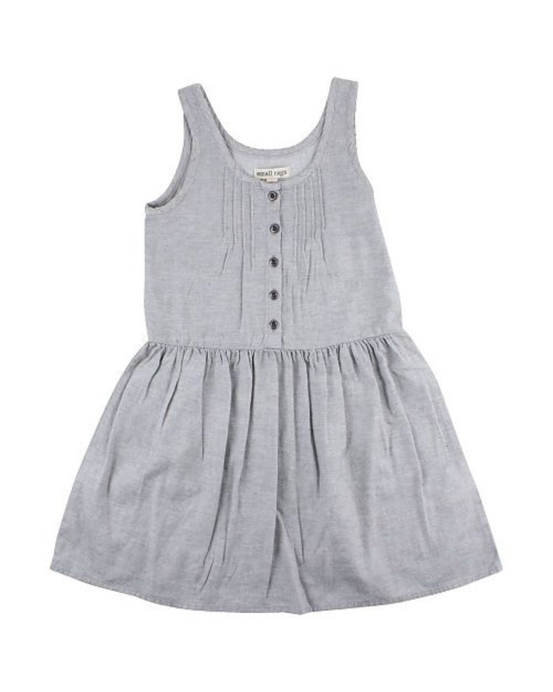 Small Rags Gerda SL Dress Grey Melange