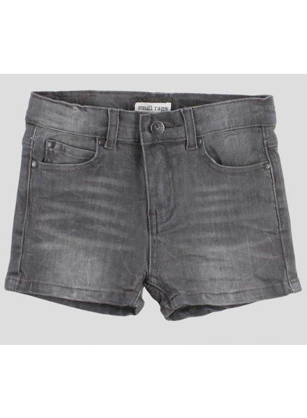 Small Rags Gerda Shorts Charcoal Gray