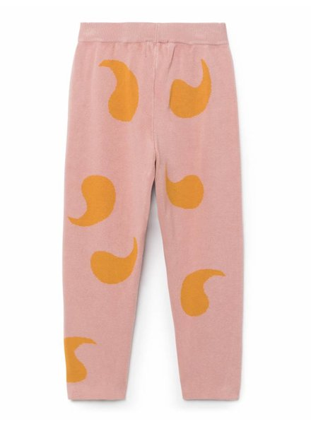 BOBO CHOSES Rose Knitted Trousers