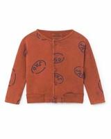 BOBO CHOSES Happy Sad Buttons Sweatshirt/Cardigan