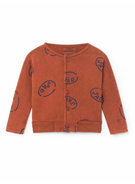 BOBO CHOSES Happy Sad Buttons Sweatshirt/Cardigan