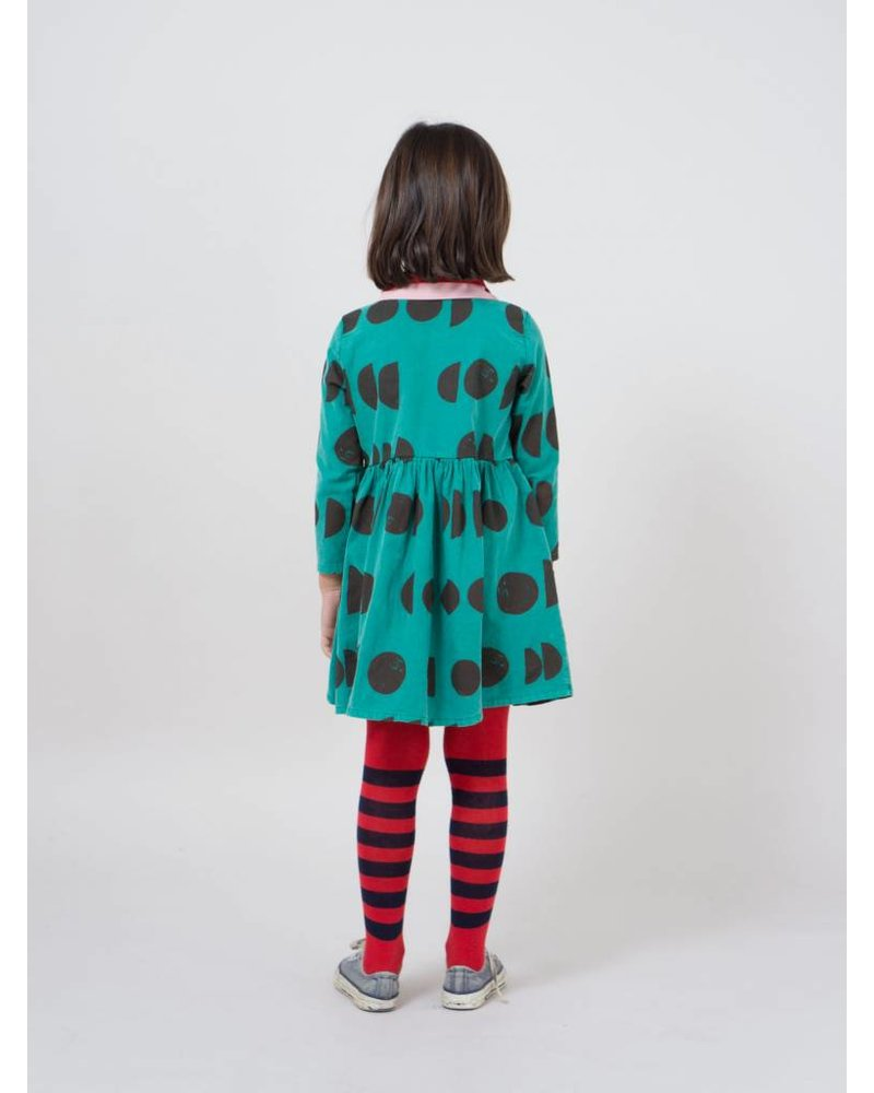 BOBO CHOSES Red Striped Tights