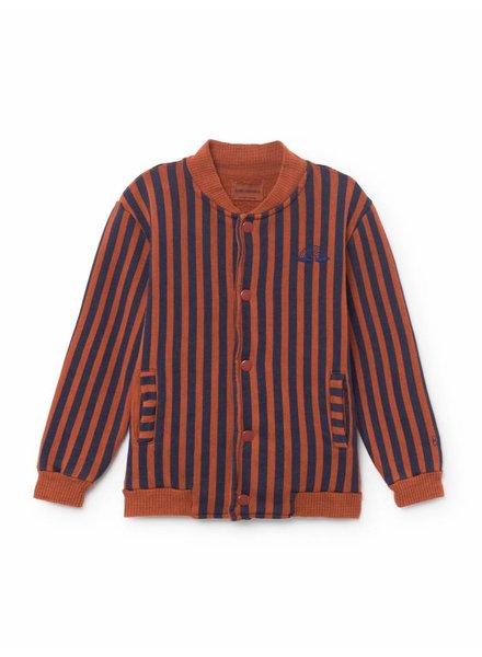 BOBO CHOSES Rainbow Buttons Sweatshirt/Cardigan