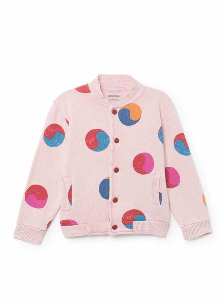 BOBO CHOSES Yin Yang Buttons Sweatshirt/Cardigan