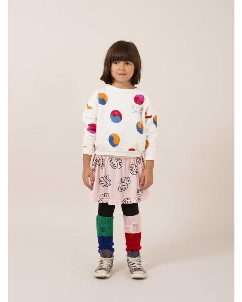 BOBO CHOSES Yin Yang Round Neck Sweatshirt