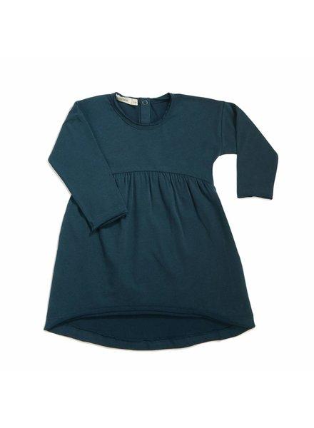 Phil & Phae Drop-shoulder dress - Deep teal