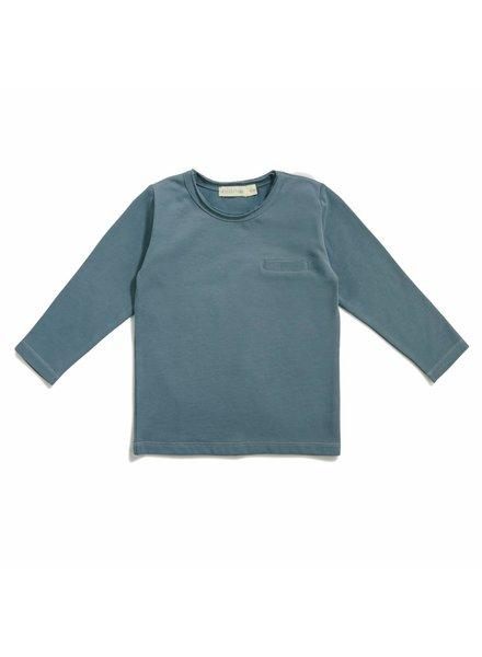 Phil & Phae Pocket tee - Balsam blue