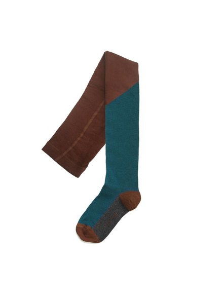 Phil & Phae Tights - Deep teal - cocoa