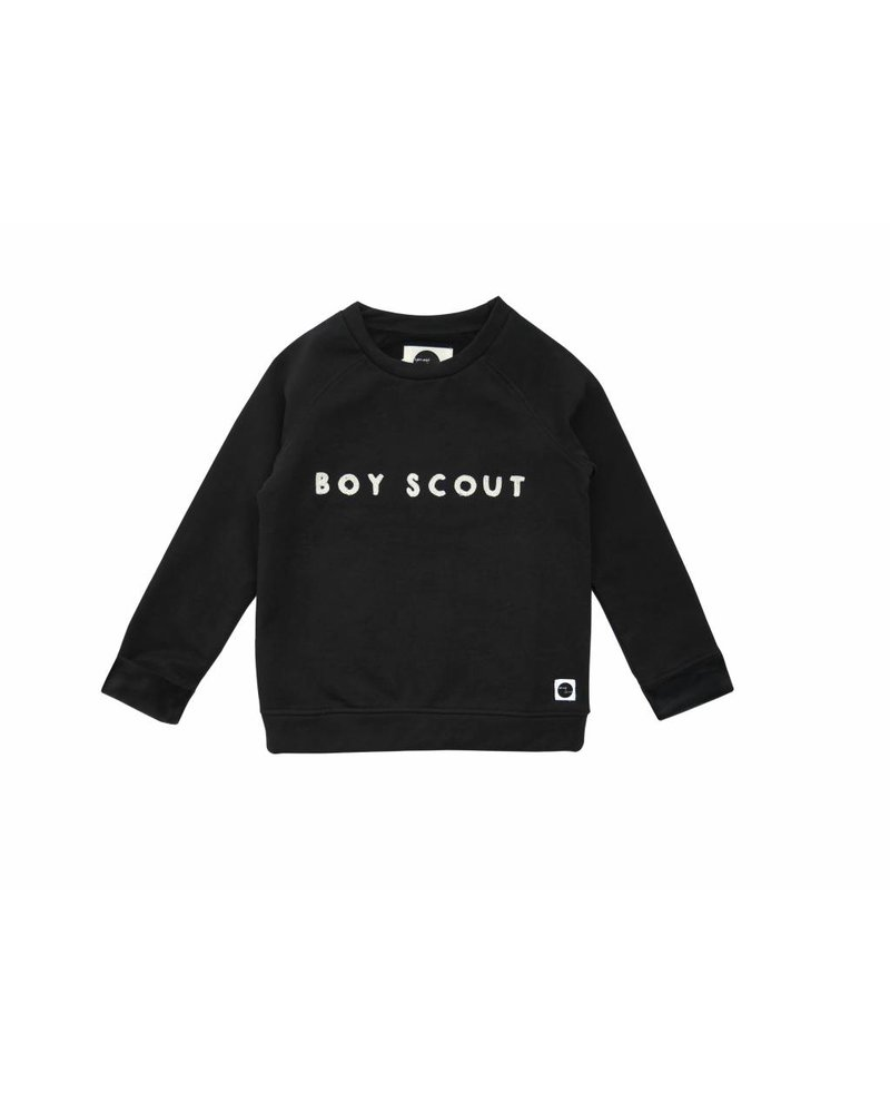 Sproet & Sprout Sweater Raglan Boyscout Black