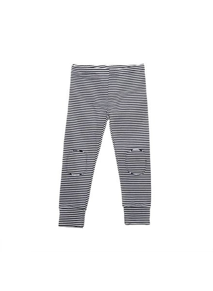 MINGO Winter Legging B/W Stripes
