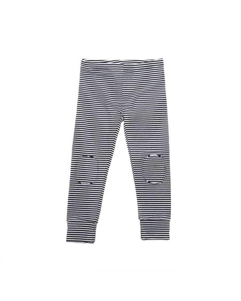 MINGO Winter Legging B/W Stripes