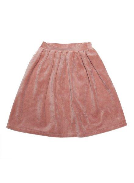 MINGO Velvet Skirt Raspberry