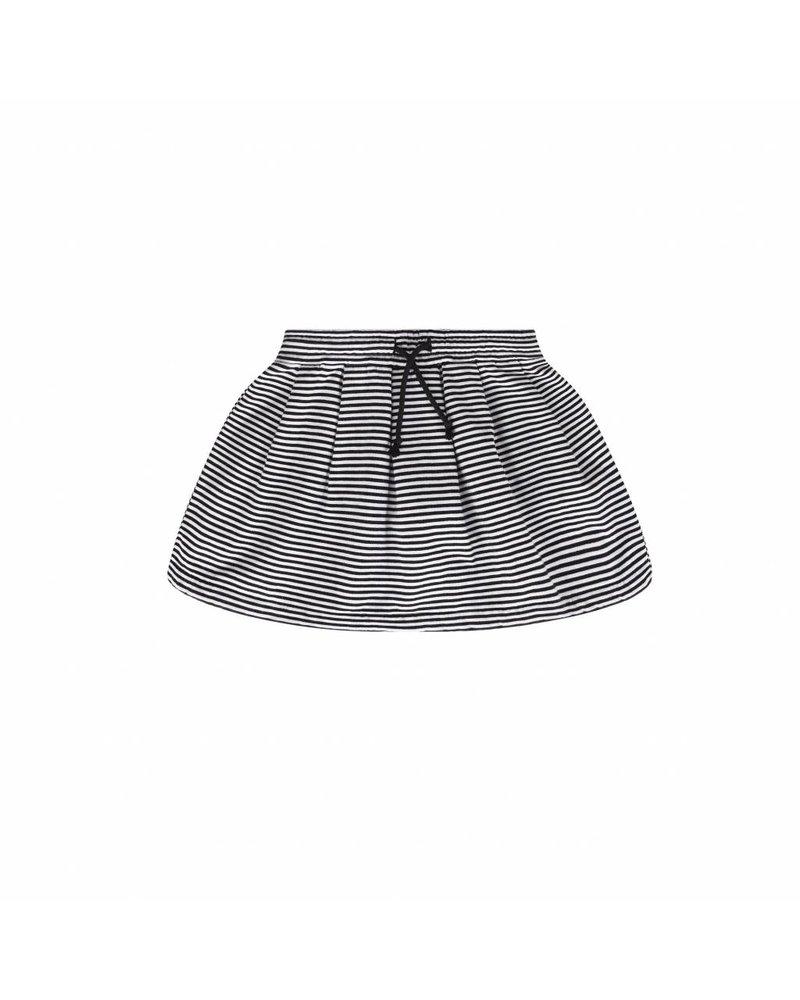 MINGO Skirt b/w Stripes