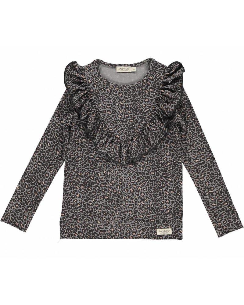 MarMar Copenhagen Leopard Shirt Rose Nut