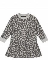 House of Jamie Pleated Dress Rocky Leopard
