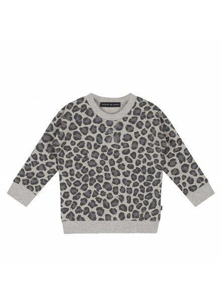 House of Jamie Crewneck Sweatshirt Rocky Leopard
