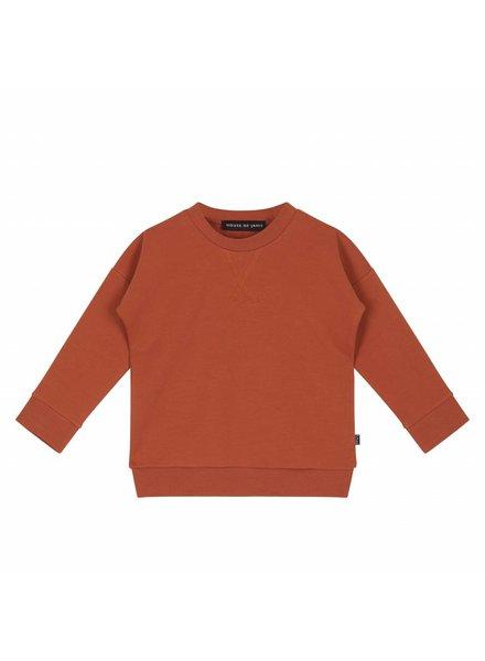 House of Jamie Crewneck Sweatshirt Rust