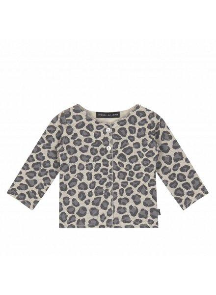 House of Jamie Baby Cardigan Rocky Leopard