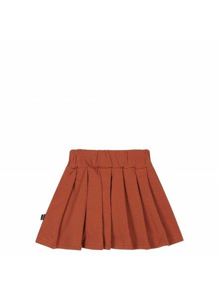 House of Jamie Pleated Skirt Rust