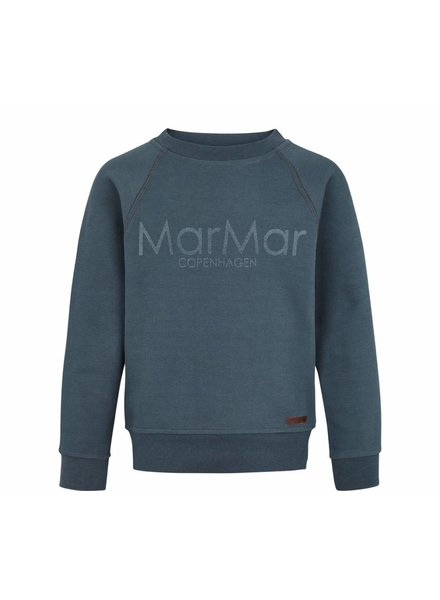 MarMar Copenhagen Shirt Thadeus Shaded Blue Logo