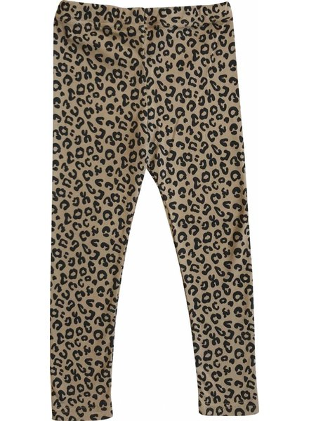 Maed For Mini Pants Brown leopard AOP