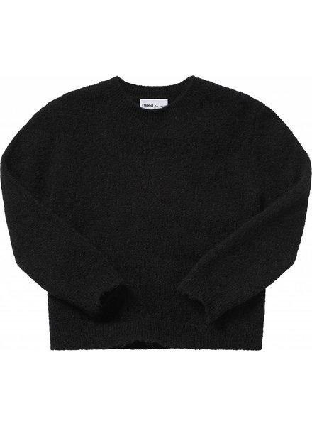 Maed For Mini Knit Sweater Black Bird