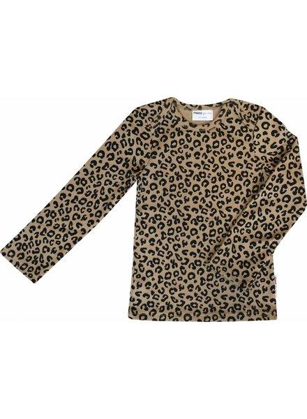 Maed For Mini LS Shirt Brown Leopard AOP
