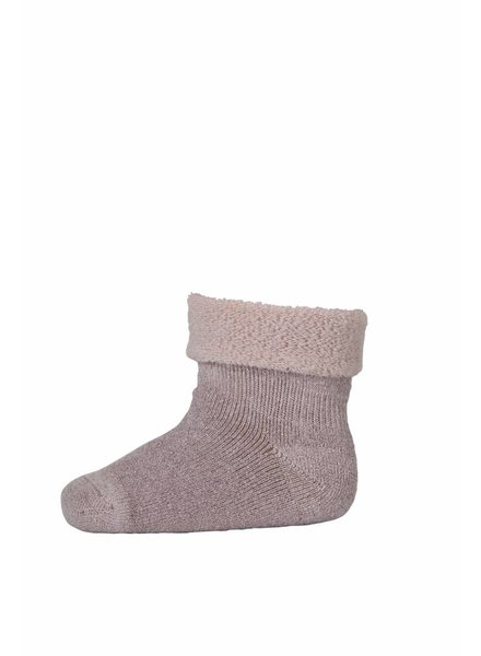 MP Denmark Baby Socks Merino Wool Dusty Pink / Lurex