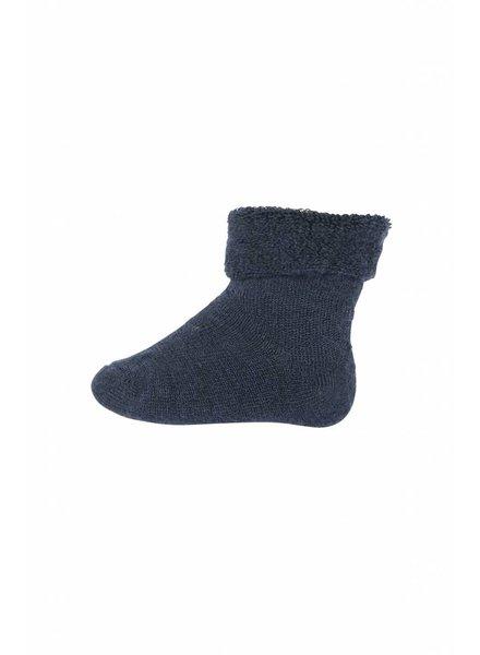 MP Denmark Baby Socks Bambo Terry - Dark Blue