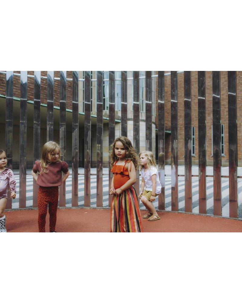 Maed For Mini Rainbow Racoon Skirt Long