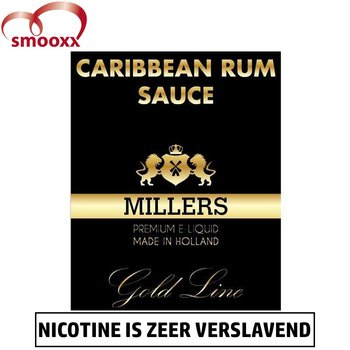 Millers Gold - Carribean Rum Sauce (100VG)