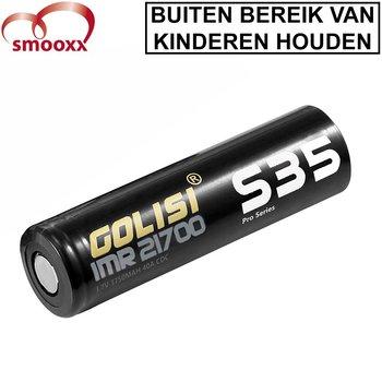 Golisi 3750mAh 21700 Batterij