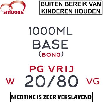 Herrlan PG Vrij Base (Bong) 1000ML