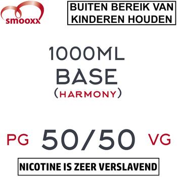 Herrlan 50/50 Base (Harmony) 1000ML