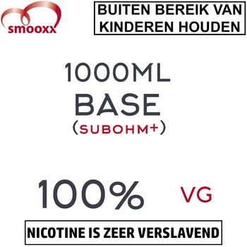 Herrlan 100% VG Base (SubOHM+) 1000ML