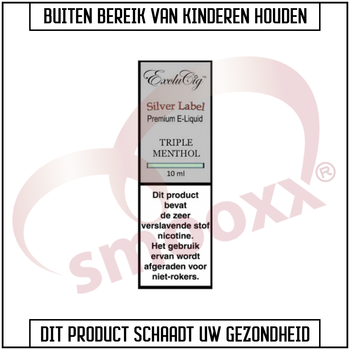 Exclucig Silver Label - Menthol Tobacco