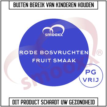 Smooxx Rode Bosvruchten (PG Vrij)