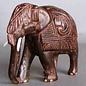 Elefant aus Ostindisch Palisander, 100 mm
