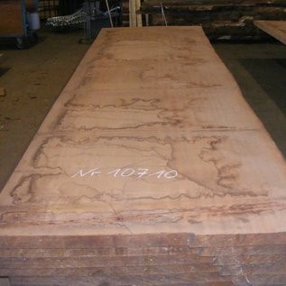 Afzelia Tischplatte, 450 x 133 x 5,5 cm, künstlich getrocknet, besäumt