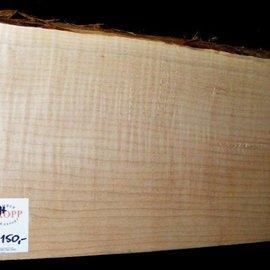 """SPITZAHORN, """"Soft Maple"""", geriegelt, 555 x 200 x 54mm, 3,6  kg"""