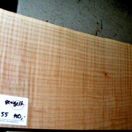 """SPITZAHORN, """"Soft Maple"""", geriegelt, 557 x 202 x 55 mm,  3,6  kg"""
