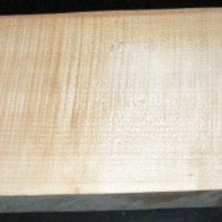 Ahorn, RIEGELAHORN, Gitarrenkorpus, 550 x 200 x 50 mm, 5,2 kg, Wurmlöcher