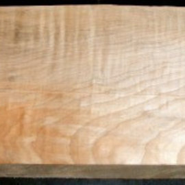 Quilted maple, guitar body, 550 x 210 x 50 mm, A/B, 4,2 kg