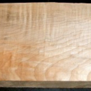 Quilted maple, guitar body, 550 x 210 x 50 mm, A/B-Quality, 4,2 kg