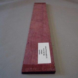 Griffbrett, Amaranth, 700  x 85 x 9 mm