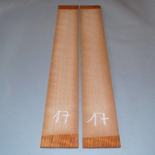 Redwood, sides, 1st choice, approx. 800 x 110 x 4 mm, 2009