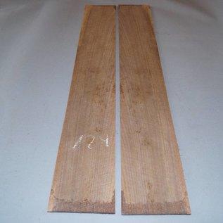 Black Walnut, Zargen, ca. 850 x 120 x 3 mm, spiegelbildlich, Einschnitt 2008