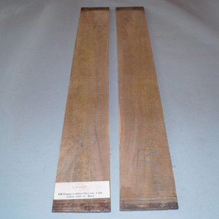 Black Walnut, Zargen, ca. 800 x 110 x 3 mm, spiegelbildlich, Einschnitt 2008